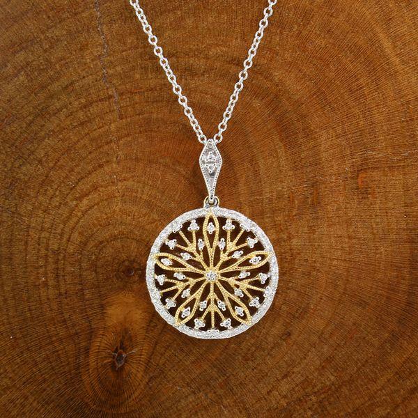 Diamond Designed Medallion Necklace Darrah Cooper, Inc. Lake Placid, NY