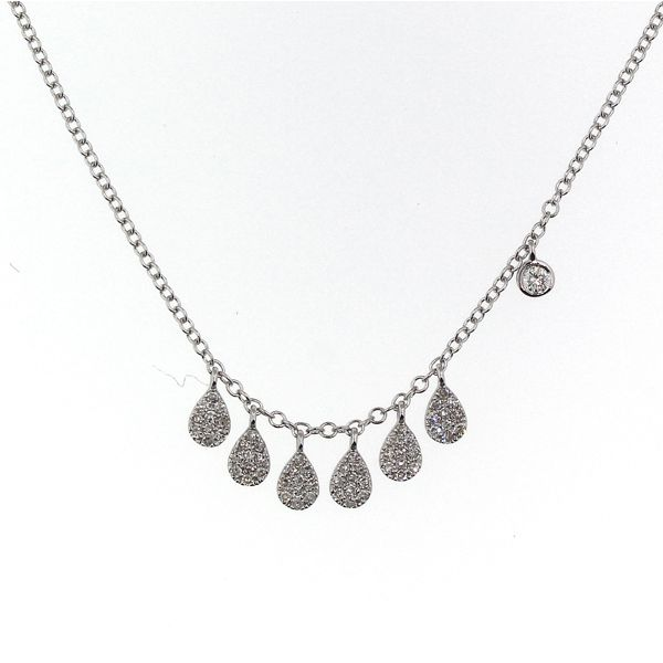 Diamond Droplet Necklace Darrah Cooper, Inc. Lake Placid, NY