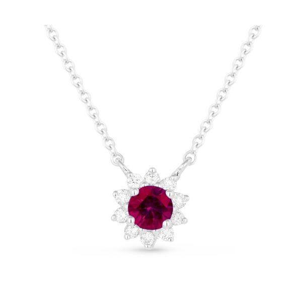 Ruby and Diamond Necklace Darrah Cooper, Inc. Lake Placid, NY