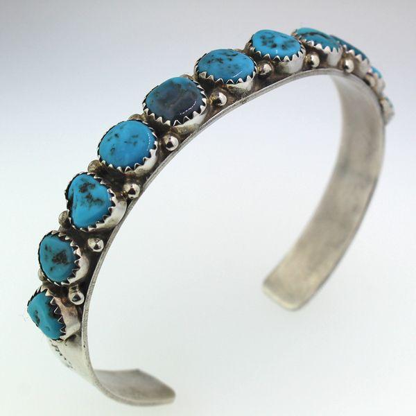 Turquoise Cuff Bracelet Image 2 Darrah Cooper, Inc. Lake Placid, NY