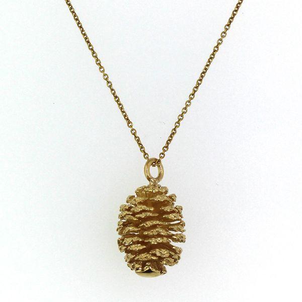 Single Pine Cone Necklace Darrah Cooper, Inc. Lake Placid, NY