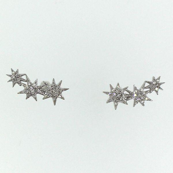 Diamond Stars Ear Climbers Darrah Cooper, Inc. Lake Placid, NY