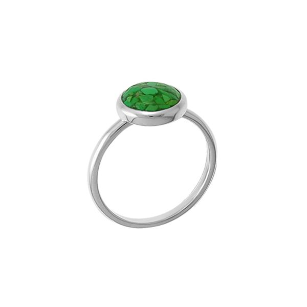 Green Turquoise in Resin Ring Darrah Cooper, Inc. Lake Placid, NY