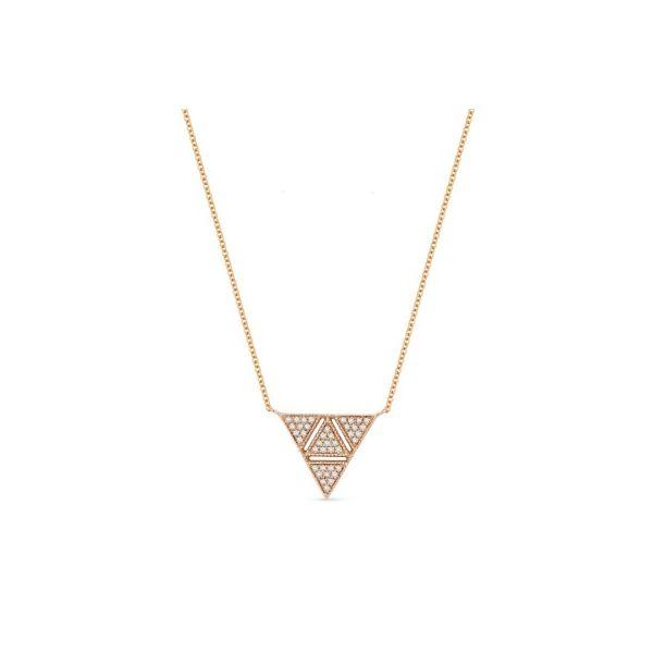 Diamond Triangle Necklace Darrah Cooper, Inc. Lake Placid, NY
