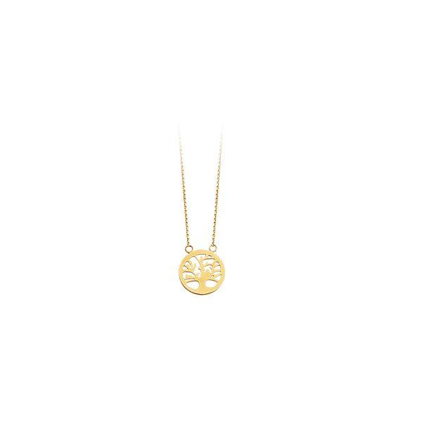 Gold Tree Necklace Darrah Cooper, Inc. Lake Placid, NY