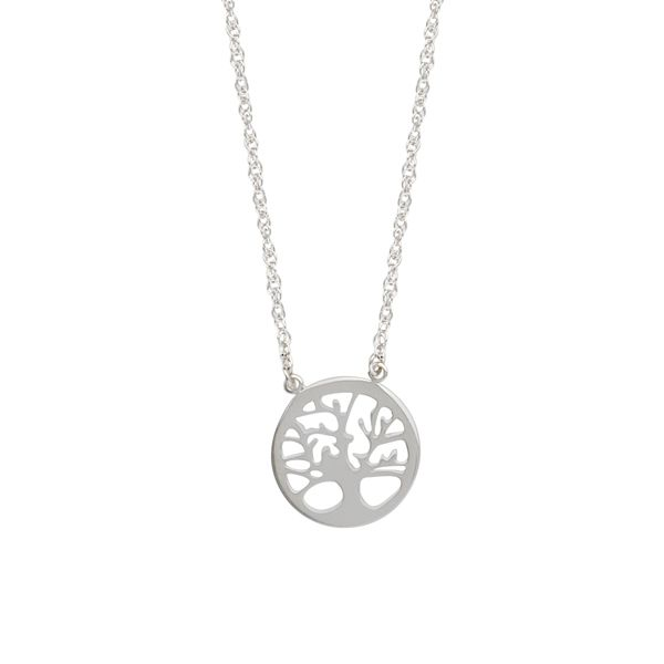 Silver Tree Necklace Image 2 Darrah Cooper, Inc. Lake Placid, NY
