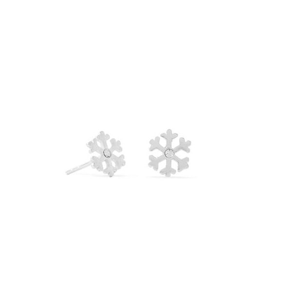 Crystal Snowflake Earrings Darrah Cooper, Inc. Lake Placid, NY
