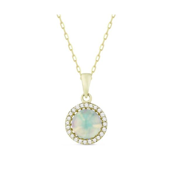 Opal and Diamond Necklace Darrah Cooper, Inc. Lake Placid, NY