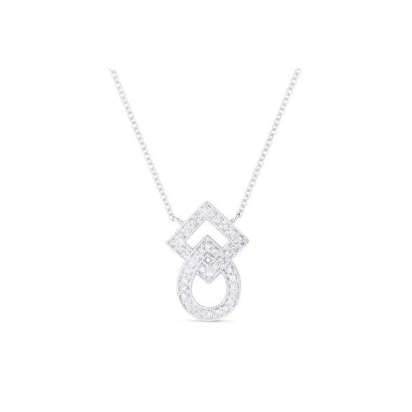 Geometric Diamond Necklace Darrah Cooper, Inc. Lake Placid, NY
