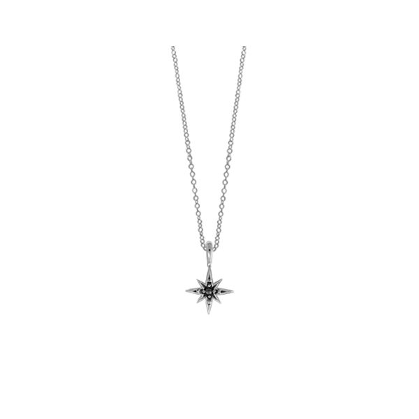 Mini Marcasite Star Necklace Darrah Cooper, Inc. Lake Placid, NY