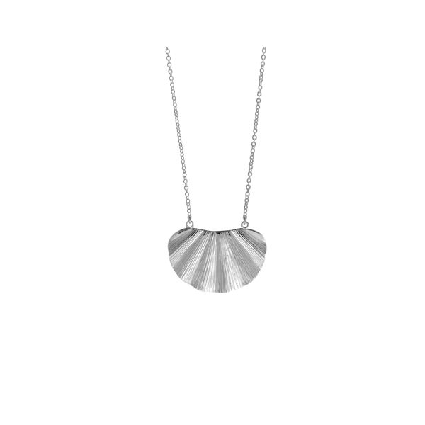 Silver Fan Necklace Darrah Cooper, Inc. Lake Placid, NY