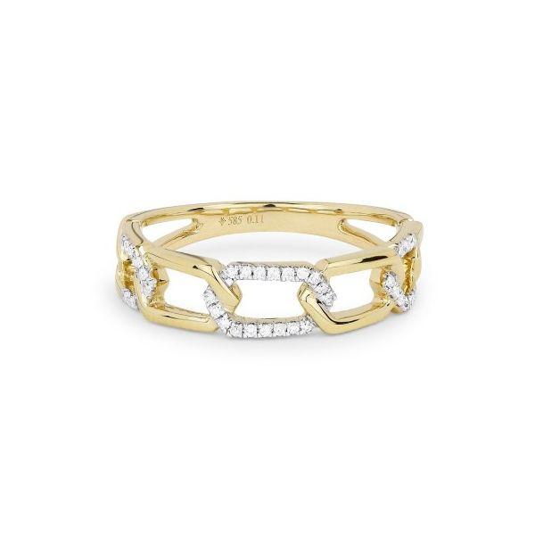 Diamond chain link ring Darrah Cooper, Inc. Lake Placid, NY