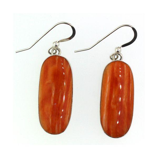 Spiney Oyster Shell Earrings Darrah Cooper, Inc. Lake Placid, NY