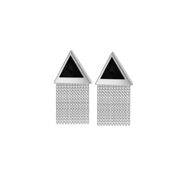 Black Onyx Fringe Earrings Darrah Cooper, Inc. Lake Placid, NY