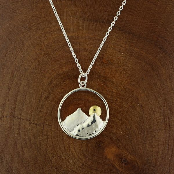 Moon Over Mountain Necklace Darrah Cooper, Inc. Lake Placid, NY