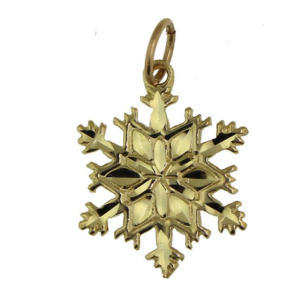 Snowflake 1-Medium Gold Darrah Cooper, Inc. Lake Placid, NY
