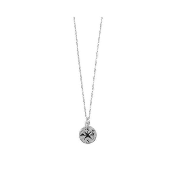 Hammered Compass Necklace Darrah Cooper, Inc. Lake Placid, NY