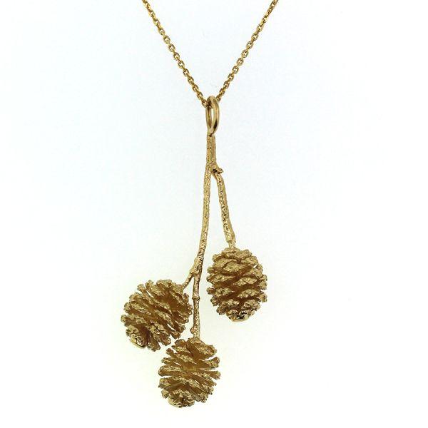 Pine Cone Bunch Necklace Darrah Cooper, Inc. Lake Placid, NY