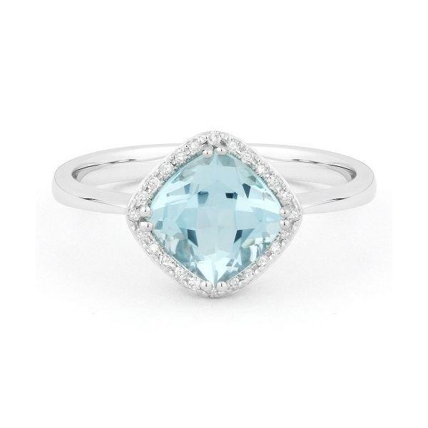 Sky Blue Topaz and Diamond Ring Darrah Cooper, Inc. Lake Placid, NY