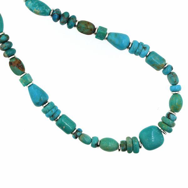 Beaded Turquoise Necklace Darrah Cooper, Inc. Lake Placid, NY