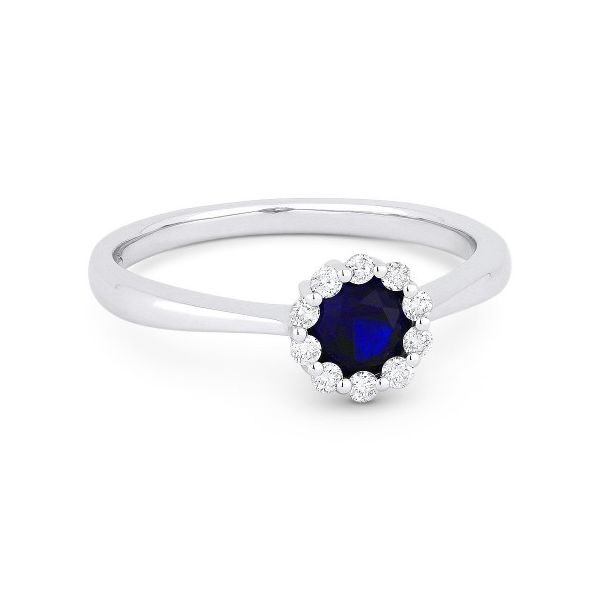 Sapphire and Diamond Ring Darrah Cooper, Inc. Lake Placid, NY