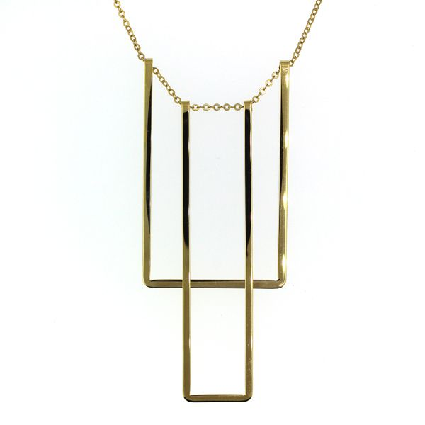 Rectangles Necklace Darrah Cooper, Inc. Lake Placid, NY