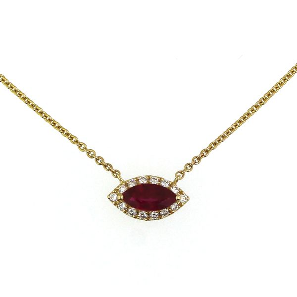 Ruby and Diamond Necklace Darrah Cooper, Inc. Lake Placid, NY