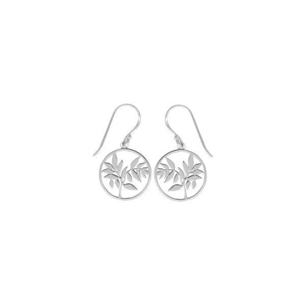 Circle Leaf Earrings Darrah Cooper, Inc. Lake Placid, NY