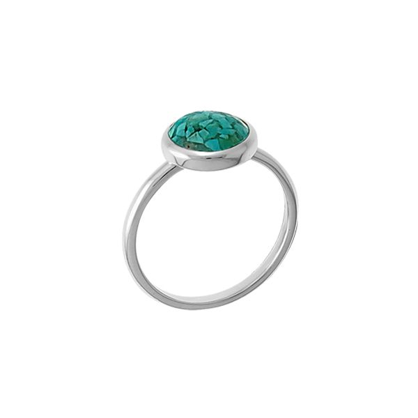 Turquoise in Resin Ring Darrah Cooper, Inc. Lake Placid, NY