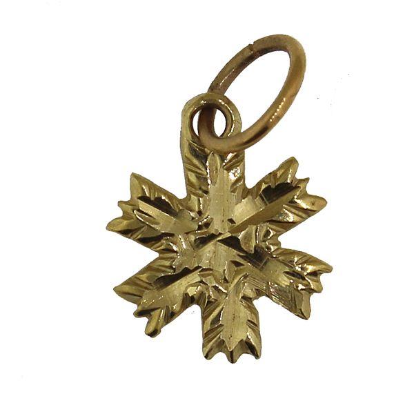 Snowflake 2-Small-Gold Darrah Cooper, Inc. Lake Placid, NY