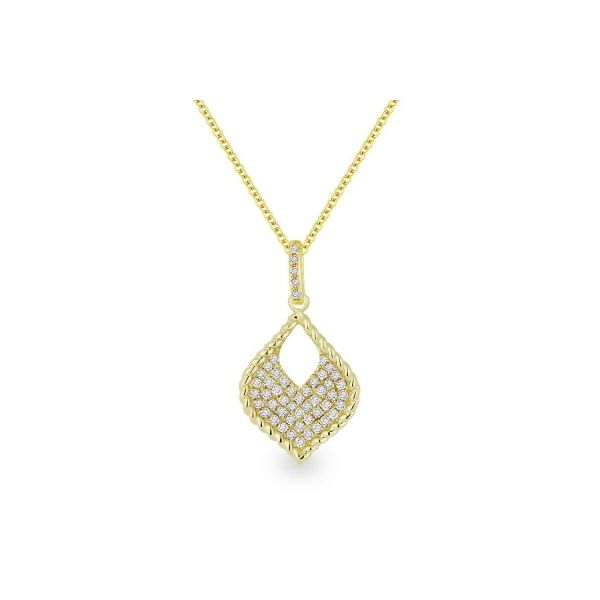 Diamond Teardrop Necklace Darrah Cooper, Inc. Lake Placid, NY