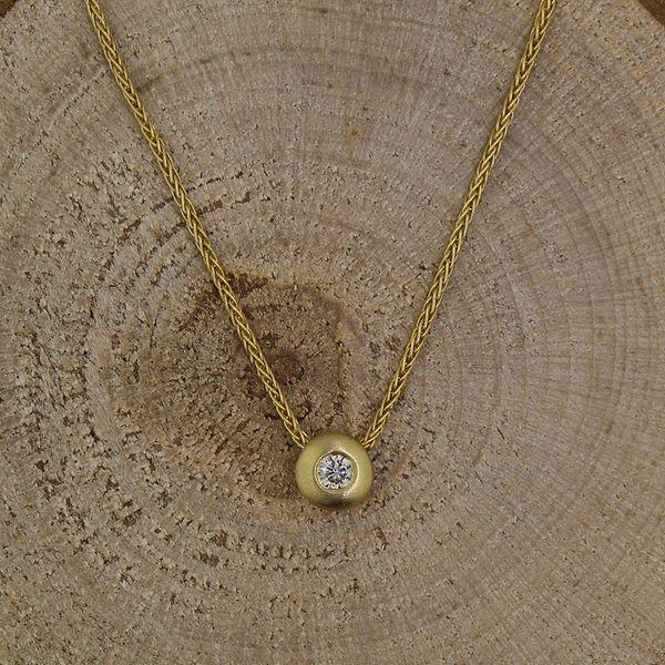Bezel Set Diamond Necklace Darrah Cooper, Inc. Lake Placid, NY