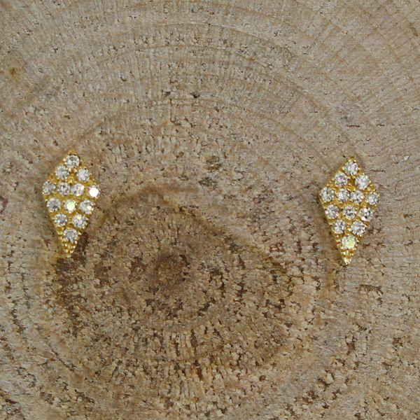 Pave Diamond Kite Earrings Darrah Cooper, Inc. Lake Placid, NY