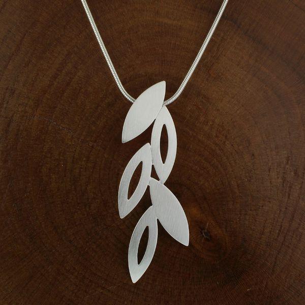 Satin Falling Leaves Necklace Darrah Cooper, Inc. Lake Placid, NY