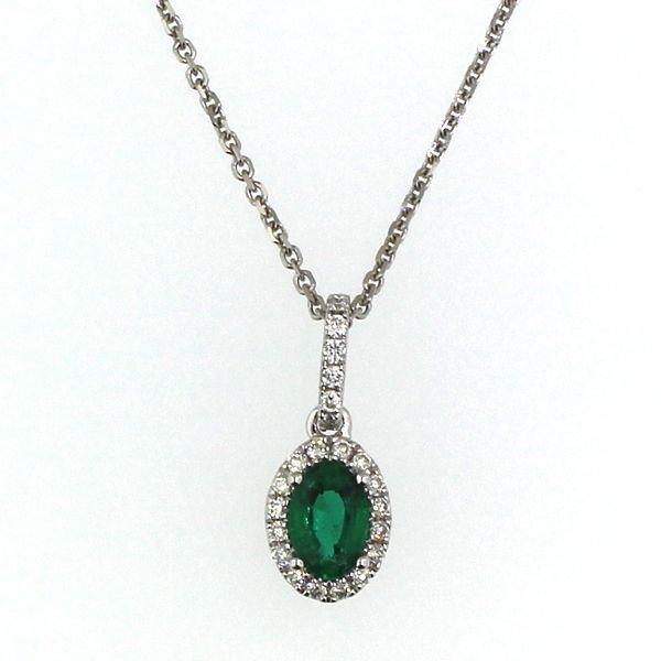 Emerald and Diamond Necklace Darrah Cooper, Inc. Lake Placid, NY
