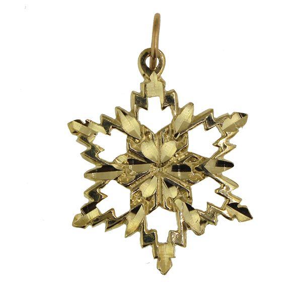 Snowflake 3-Large-Gold Darrah Cooper, Inc. Lake Placid, NY