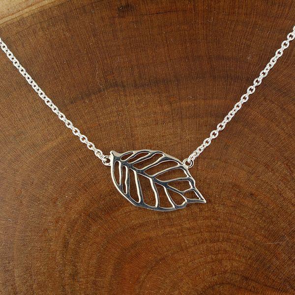 Cutout Leaf Necklace Darrah Cooper, Inc. Lake Placid, NY
