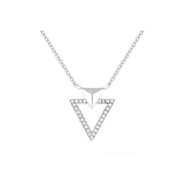 Diamond Triangles Necklace Darrah Cooper, Inc. Lake Placid, NY