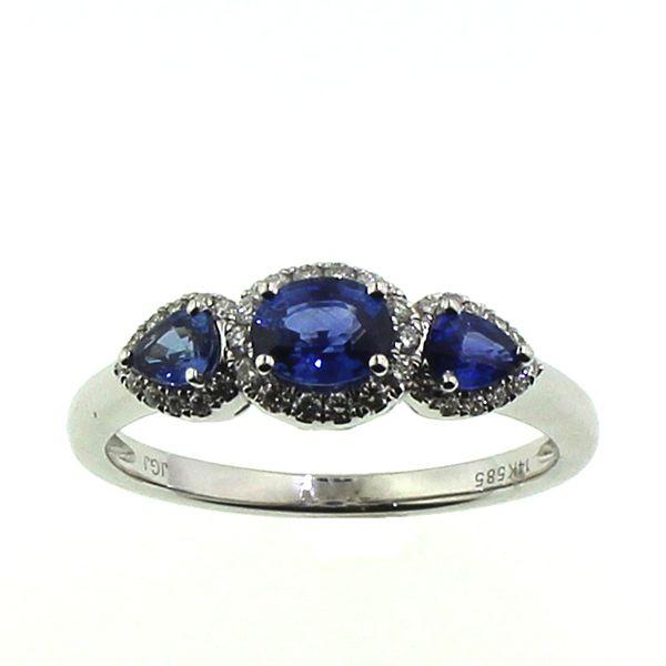 Sapphire and Diamond Ring Darrah Cooper, Inc. Lake Placid, NY