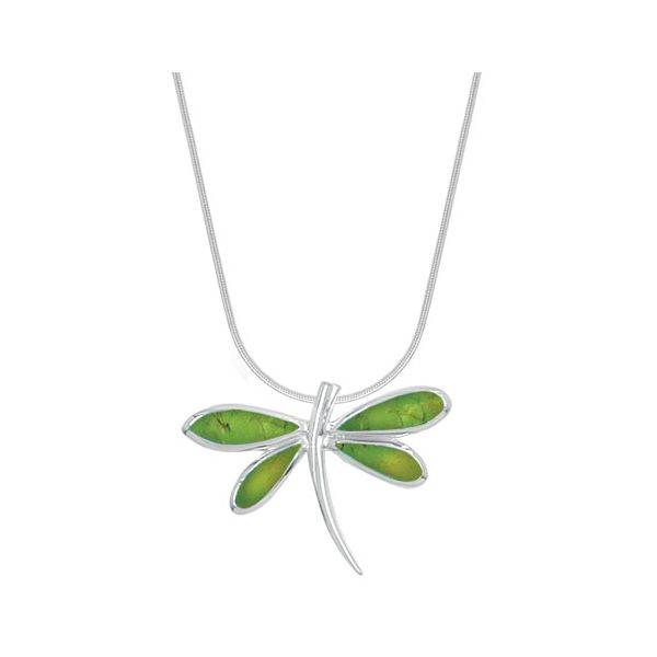Green Turquoise Dragonfly Necklace Darrah Cooper, Inc. Lake Placid, NY