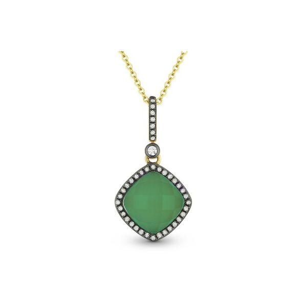 Green Jade and Diamond Necklace Darrah Cooper, Inc. Lake Placid, NY