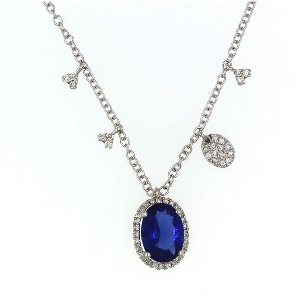 Kayanite and Diamond Necklace Darrah Cooper, Inc. Lake Placid, NY