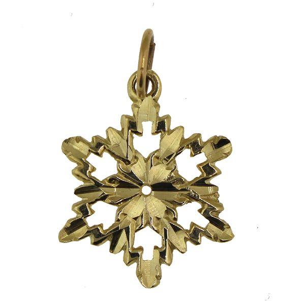 Snowflake 3-Medium-Gold Darrah Cooper, Inc. Lake Placid, NY