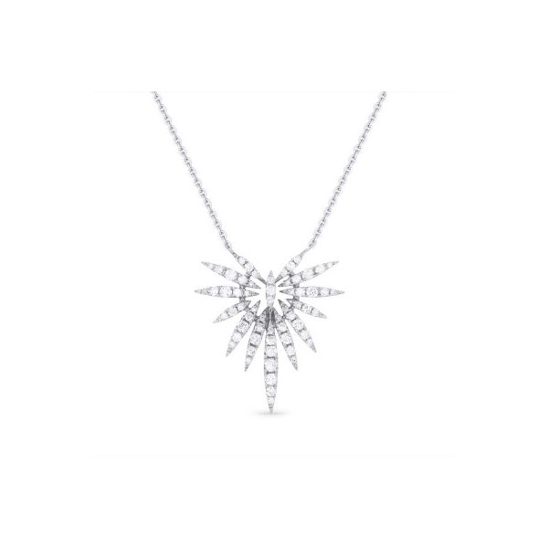 Diamond Crescent Necklace Darrah Cooper, Inc. Lake Placid, NY