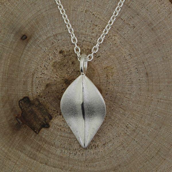 Satin Leaf Necklace Darrah Cooper, Inc. Lake Placid, NY