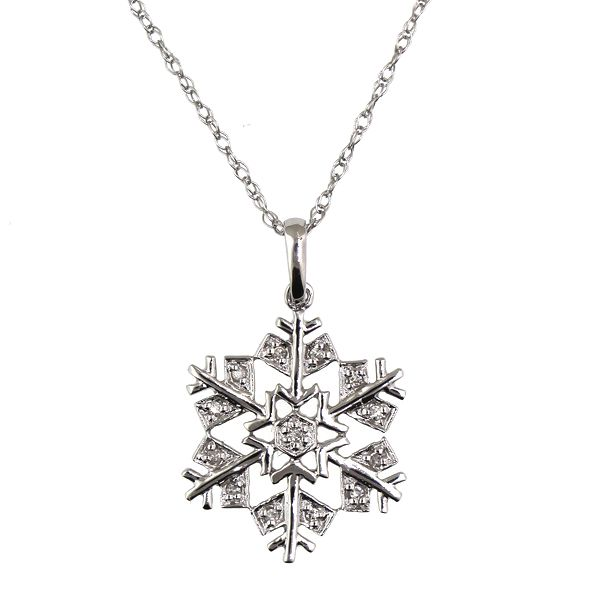 Diamod Snowflake Necklace Darrah Cooper, Inc. Lake Placid, NY