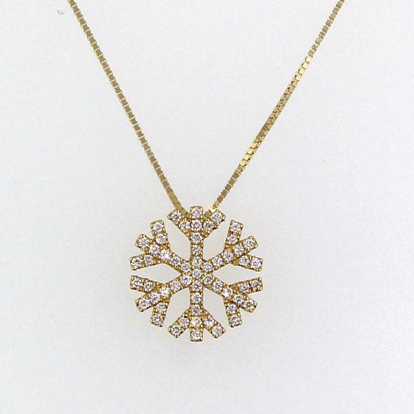 Diamond Snowflake Necklace Darrah Cooper, Inc. Lake Placid, NY