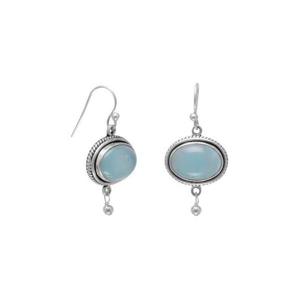 Chalcedony Earrings Darrah Cooper, Inc. Lake Placid, NY
