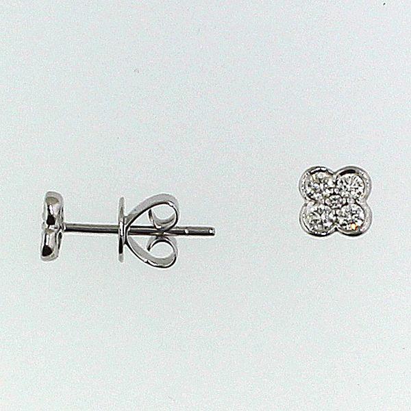 Diamond Flower Earrings Darrah Cooper, Inc. Lake Placid, NY