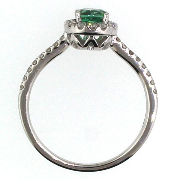 Green Tourmaline and Diamond Ring Image 2 Darrah Cooper, Inc. Lake Placid, NY